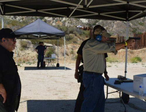 Outside the Firearms Training Class and At Home: Dry Firing