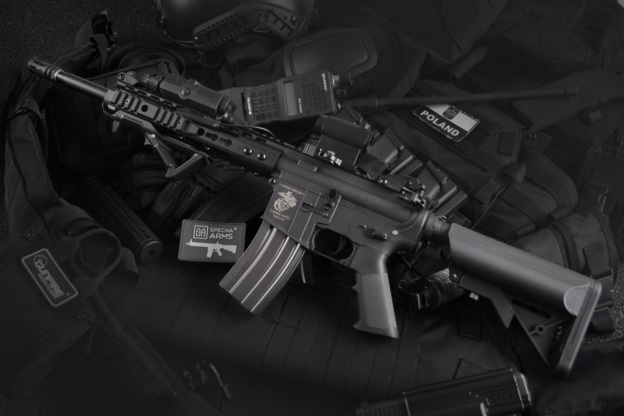 a rifle in a shooting range in Cheyenne